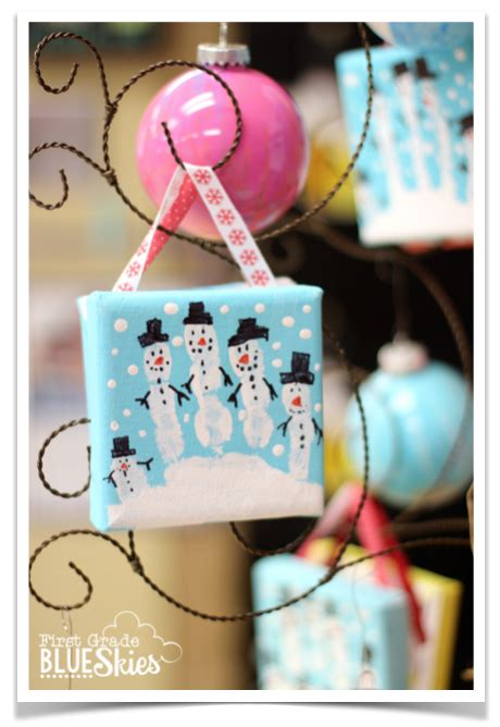 christmas ornaments with photos for third grade grade blue skies reindeer day in the classroom parent gifts school