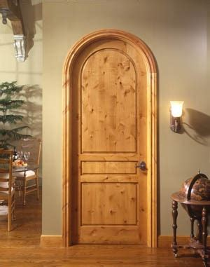 Arched Wood Interior Doors For 1930 S English Cottage Interior Cottage Doors