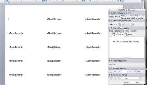 How Do You Make Labels In Word