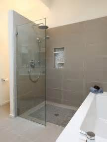 Open Shower Bathroom Pros And Cons Of A Walk In Shower