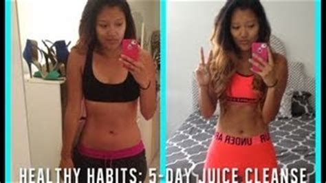 Juice Detox Results by Healthy Habits How To Do A 3 Day Juice Cleanse видео из