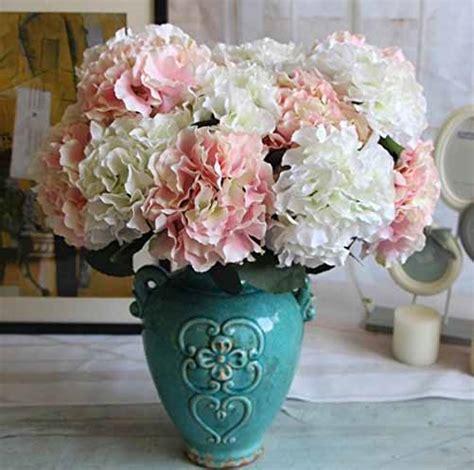 vasi con fiori finti social casa
