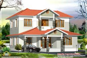 House Plans In Kerala Style 2500 Sq Ft Kerala Style Home Plan Kerala Home Design Architecture House Plans