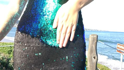 chagne colored prom dresses a dress that changes color two tone sequin fabric