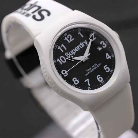 Tali Jam Tangan jam tangan superdry tali karet tanggal aktif delta jam