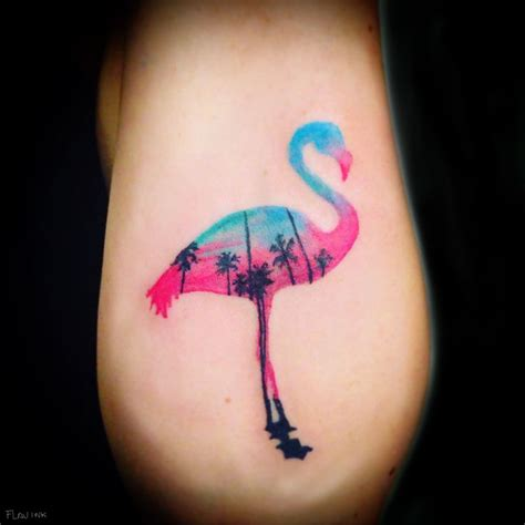 no outline tattoos 25 best ideas about flamingo on