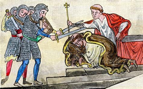 The Murder Of Henry Viii bones of becket to return to canterbury via