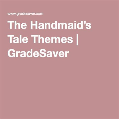 themes the handmaid s tale 17 best images about homeschool handmaid s tale on