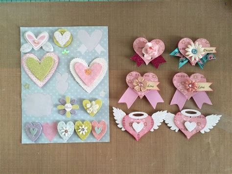 Handmade Embellishments For Scrapbooking - 17 best ideas about scrapbook embellishments on