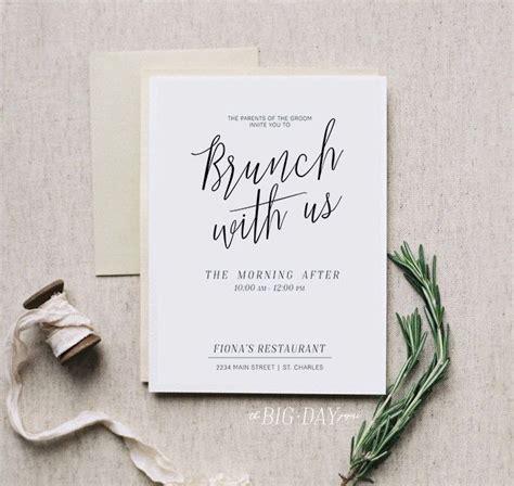 wedding day after brunch invitation wording best 25 brunch invitations ideas on baby