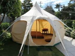 Backyard Safari Adventures Glamping It Up In A Yurt Or Safari Tent State Of Green