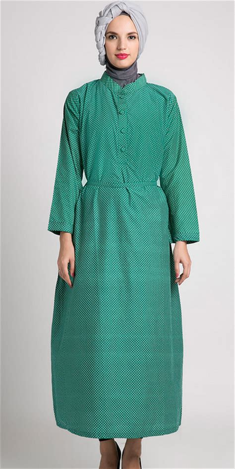 desain baju gamis untuk orang gendut model baju muslim gamis untuk orang gemuk