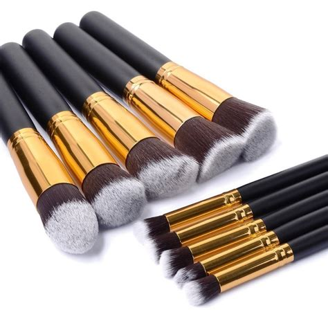 Foundation Make Up Brush 10pcs professional makeup brushes set make up brush