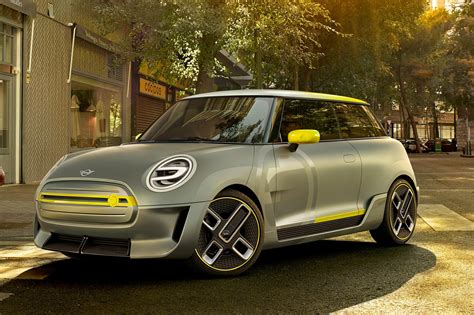 mini cer mini electric concept at frankfurt 2017 by car magazine