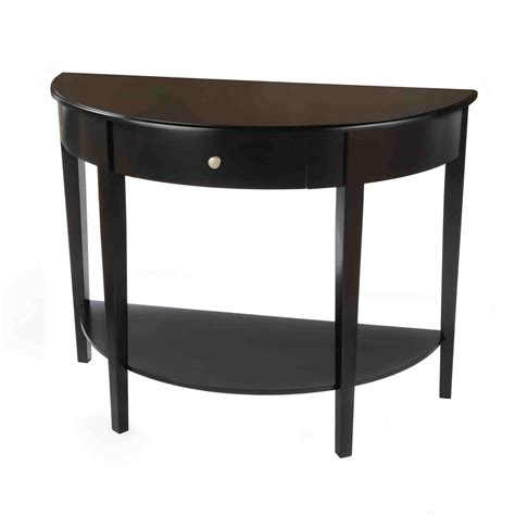 half circle entry table half end table decor ideasdecor ideas
