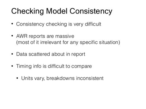 Size Inconsistent But Never Irrelevant by Awr1page Sanity Checking Time Instrumentation In Awr Reports