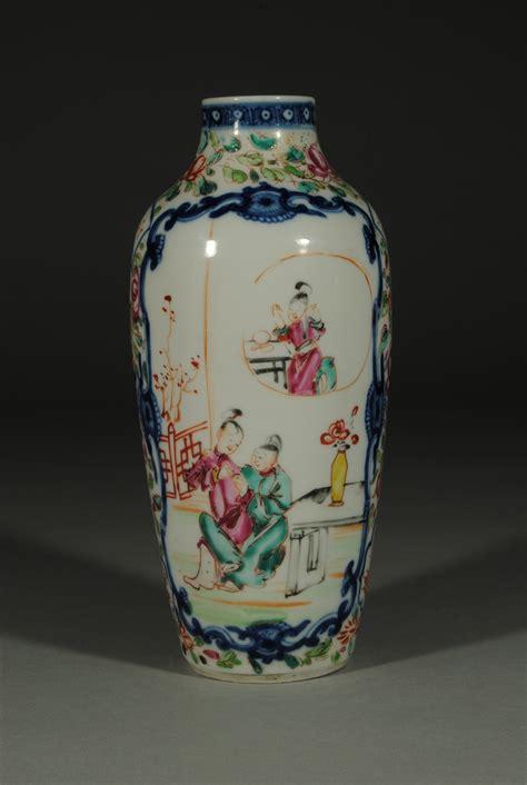 Qianlong Vase by And Decorative Arts Pair Qianlong Famille