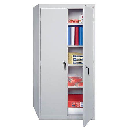 sandusky 72 steel storage cabinet sandusky 72 steel weldedassembled storage cabinet with 4