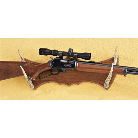 whitetail antler gun rack 127817 decorative accessories