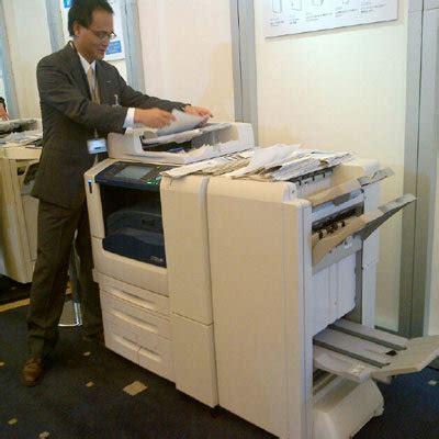 Mesin Fotokopi Rusak mesin fotokopi fuji xerox bisa jegrek dan lipat kertas