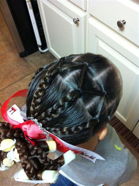 baids for gymnastic meets gymnastics meet hair little girl hairstyles pinterest