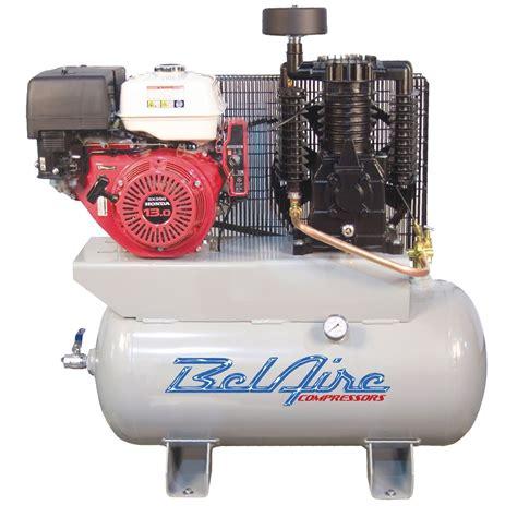 belaire 3g3hhl 13 hp 2 stage honda engine powered compressor imc3g3hhl