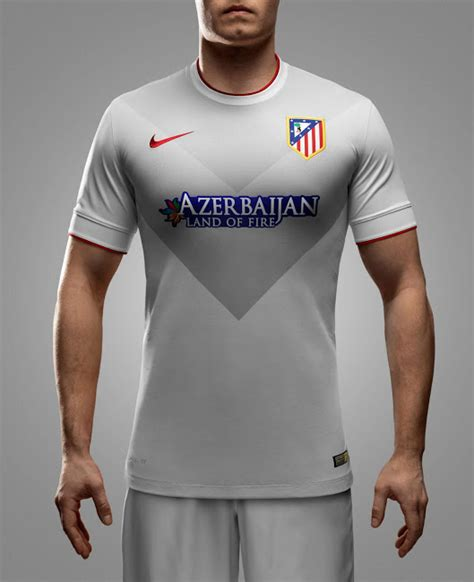 Jersey Atletico Madrid Away 2015 T1310 5 new atl 233 tico madrid 14 15 home and away kits footy headlines