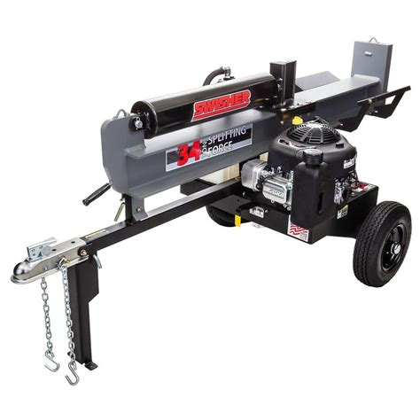 homelite 5 ton electric log splitter ut49103 the home depot