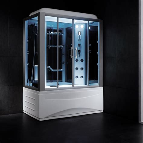 Kohler Double Sink by Essex Luxury Steam Shower