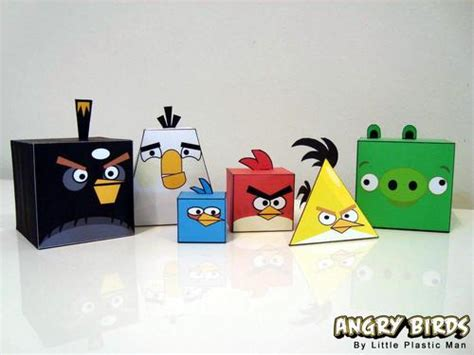 Angry Birds Paper Crafts Gadgetsin by Angry Birds Paper Crafts Gadgetsin