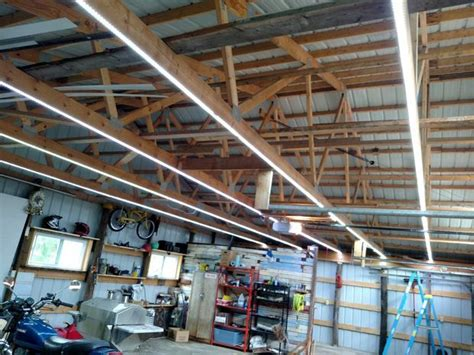 adding lights to garage inexpensive garage lights from led strips garage
