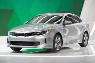 Kia Optima Hybird 2017 Kia Optima Phev Optima Hybrid Debut In Chicago
