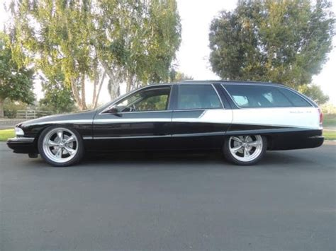 1993 buick roadmaster custom wagon bagged 20 quot rims