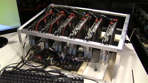 how to build a gpu mining rig to mine monero ether zcash and other cryptocurrenices with windows 64 bit os mining cryptocurrencies with windows 7 8 8 1 and 10 books ready made ethereum mining rig 80mh s 1st mining rig