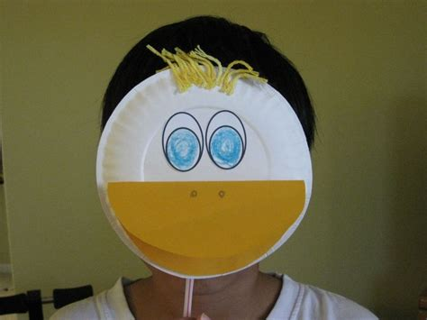 Duck Paper Craft - 25 unique duck mask ideas on crown printable