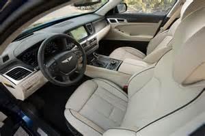 Genesis Hyundai Interior 2015 Hyundai Genesis Review Automobile Magazine