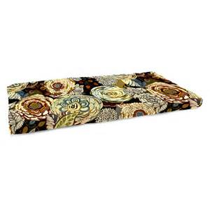 38 bench cushion manufacturing 16 5 x 38 in floral indoor bench