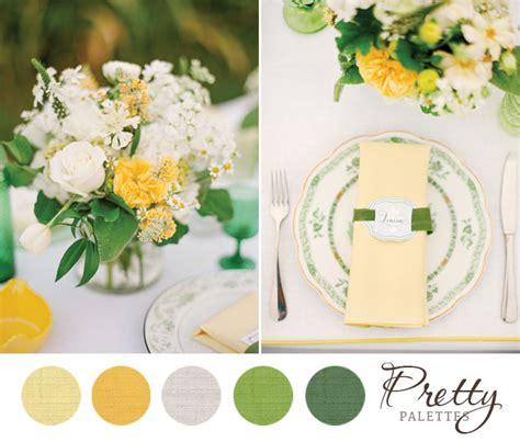 summer wedding colors pretty palettes 70