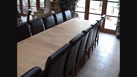 16 seater dining table large tallinn extending oak dining table 12 14 16 seater