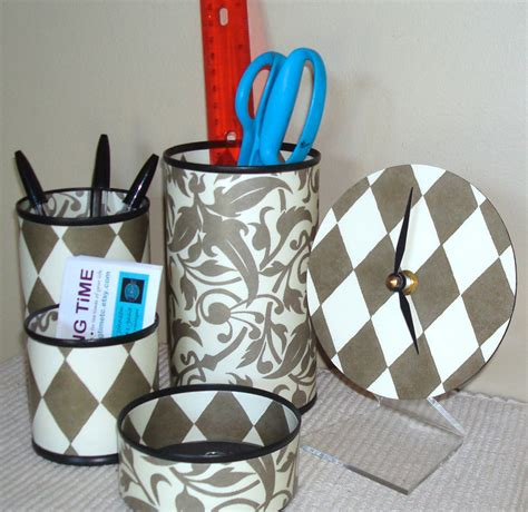 Chevron Desk Accessories Turquoise Chevron Desk Accessories Turquoise And Gray Pencil