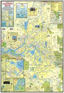 california delta map california delta maps water proof boaters maps delta