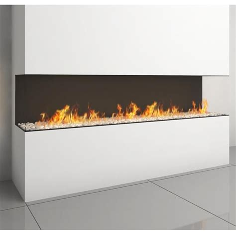 3 Sided Glass Fireplace by Ortal Ortal Clear Ts 200 Three Sided Glass Gas