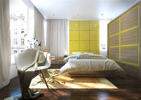 contemporary bedrooms by koj five apartments by koj design visualized