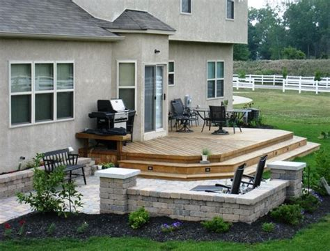 deck patio ideas small backyards oakclubgenoa patio design