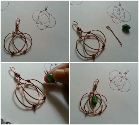 wire jewelry ideas to make easy fall craft wire projects jewelry