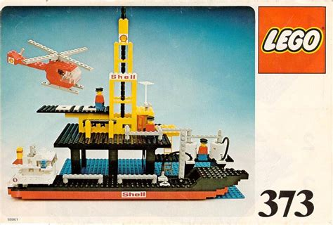 lego tanker boat lego offshore rig with fuel tanker instructions 373 boats