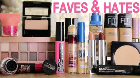 Makeup Maybelline drugstore makeup favorites it s maybelline
