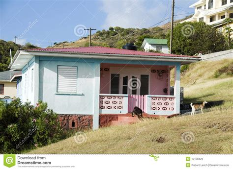 typical house style in typical caribbean style house bequia royalty free stock image image 12128426