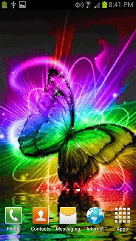 live butterfly themes butterfly color live wallpaper app for android