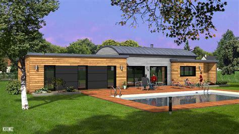 Garage En Bois Toit Plat 436 by Maisons Ericlor Constructeur Maisons Individuelles 224